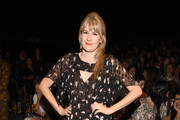 Tennessee Thomas attends Anna Sui Spring 2016 during New York Fashion Week: The Shows at The Arc, Skylight at Moynihan Station on September 16, 2015 in New York City.