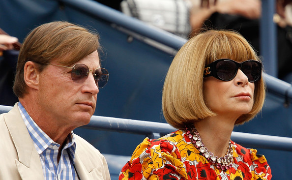Anna Wintour with Boyfriend Shelby Bryan
