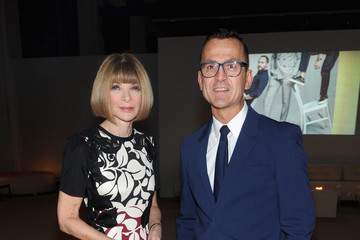 Anna Wintour Steven Kolb CFDA and Vogue Fund Reception