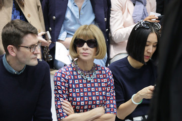 Anna Wintour Marni - Front Row - Milan Fashion Week Womenswear Spring/Summer 2015