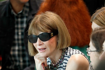 Anna Wintour Michael Kors Collection Spring 2019 Runway Show - Front Row
