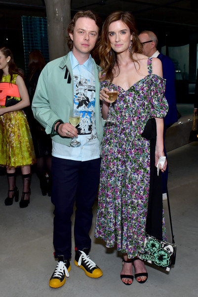 Dane DeHaan, Anna Wood - Prada Resort 2019 Fashion Show - Arrivals And Front Row