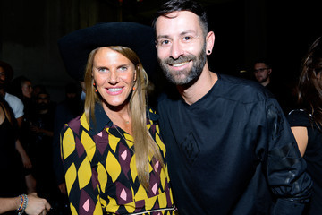 Anna dello Russo Marcelo Burlon County of Milan - Backstage - Milan Collections Men SS16