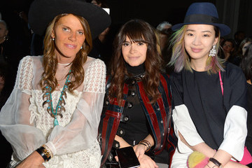 Anna dello Russo Front Row at Moncler Gamme Rouge