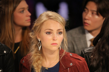 AnnaSophia Robb Rebecca Minkoff - Front Row - Mercedes-Benz Fashion Week Spring 2015