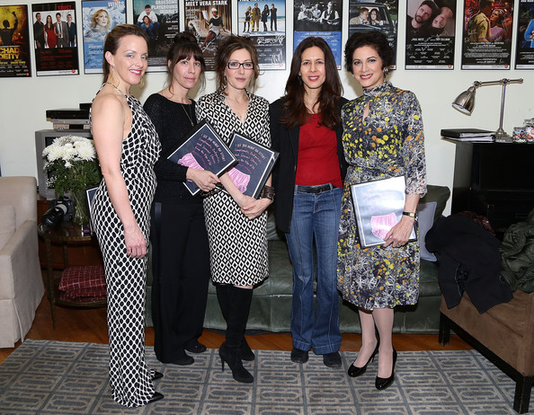 'I See You Made an Effort' Event in NYC [annabelle gurwitch,ilana levine,alice ripley,jessica hecht,saundra santiago,actress,i see you made an effort,the book,book,second stage theatre presents,event,fashion,fashion design,team,art]
