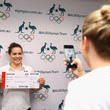 Annabelle Smith Australian Diving Team Receive Olympic Games Uniform