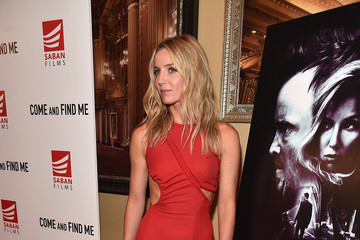 Annabelle Wallis Premiere Of Saban Films' 'Come And Find Me' - Red Carpet