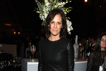Annabeth Gish The Weinstein Company and Netflix Golden Globes Party
