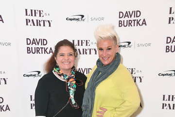Anne Burrell David Burtka Celebrates The Launch Of His New Cookbook 'Life Is A Party'