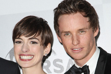 Anne Hathaway Eddie Redmayne NBC Universal's 70th Annual Golden Globe Awards After Party - Arrivals