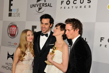 Anne Hathaway Eddie Redmayne NBCUniversal Golden Globes Viewing And After Party - Red Carpet