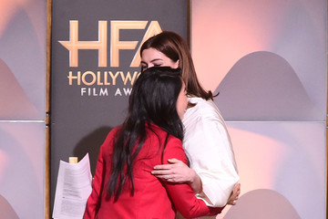 Anne Hathaway 22nd Annual Hollywood Film Awards - Show
