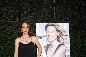 Annie Parisse ELLE Hosts Women in Comedy Event With July Cover Star Kate McKinnon