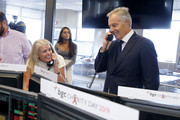 Tony Blair (R) attends Annual Charity Day Hosted By Cantor Fitzgerald, BGC and GFI - BGC Office – Inside on September 11, 2019 in New York City.