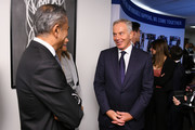 Tony Blair (R) attends the Annual Charity Day Hosted By Cantor Fitzgerald, BGC and GFI on September 11, 2019 in New York City.