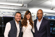 (L-R) Nick Swisher, Carol Alt and John Starks attend the Annual Charity Day Hosted By Cantor Fitzgerald, BGC and GFI on September 11, 2019 in New York City.