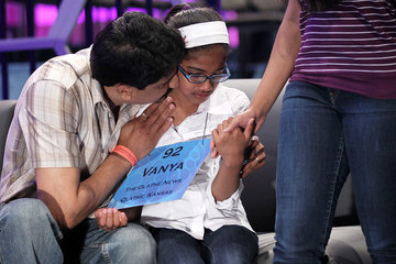 Vanya Shivashankar Annual Scripps National Spelling Bee Held In Washington, DC