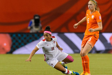 Anouk Dekker Netherlands v Canada: Group A - FIFA Women's World Cup 2015