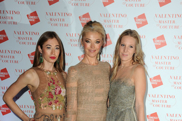 Anouska Beckwith Alice Naylor-Leyland Valentino: Master Of Couture: VIP View - Arrivals