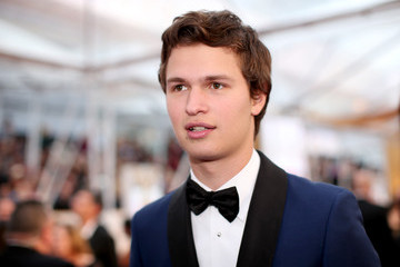 Ansel Elgort Arrivals at the 87th Annual Academy Awards — Part 2