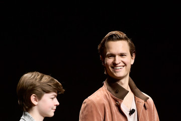 Ansel Elgort Oakes Fegley CinemaCon 2019 - Warner Bros. Pictures Invites You To 'The Big Picture,' An Exclusive Presentation Of Its Upcoming Slate