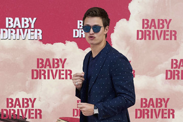 Ansel Elgort 'Baby Driver' Madrid Photocall