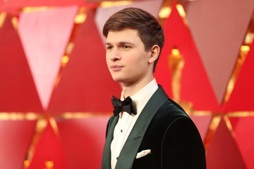 Ansel Elgort 90th Annual Academy Awards - Red Carpet
