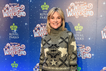 Anthea Turner Winter Wonderland VIP Launch Night