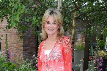 Anthea Turner Chelsea Flower Show - Press Day 2016