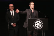 Actor Benn Northover speaks onstage at The Anthology Film Archives Benefit and Auction on March 2, 2017 in New York City.