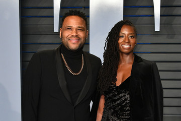 Anthony Anderson Alvina Stewart 2018 Vanity Fair Oscar Party Hosted By Radhika Jones - Arrivals