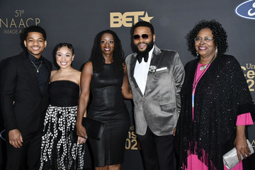 Anthony Anderson Kyra Anderson 51st NAACP Image Awards - Arrivals
