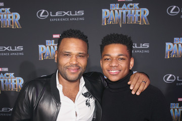 Anthony Anderson Nathan Anderson The Los Angeles World Premiere of Marvel Studios' 'Black Panther'