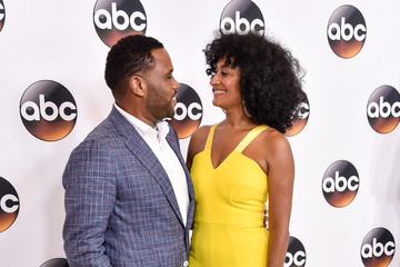 Anthony Anderson Tracee Ellis Ross Disney ABC Television Group Hosts TCA Summer Press Tour