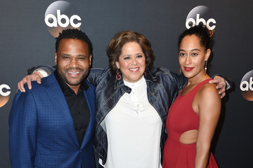 Anthony Anderson Tracee Ellis Ross 2017 ABC Upfront