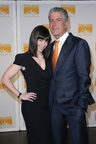 Anthony Bourdain and Ottavia Busia - 8th Annual Can-Do Awards Dinner