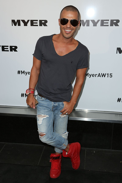 Anthony+Callea+Myer+W+2015+Season+Launch