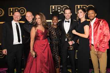 Anthony Carrigan D'Arcy Carden HBO's Post Emmy Awards Reception - Red Carpet