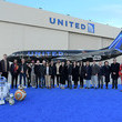 Anthony Daniels Launch of United Star Wars: The Rise of Skywalker Plane