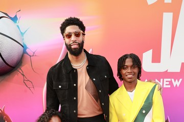 """Anthony Davis Premiere Of Warner Bros """"Space Jam: A New Legacy"""" - Red Carpet And Pre-Reception"""