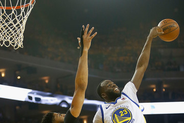 Anthony Davis Draymond Green New Orleans Pelicans vs. Golden State Warriors - Game One