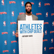 Anthony Davis Ruffles, The Official Chip Of The NBA Partners With Anthony Davis In The First-Ever 'Chip Dip'