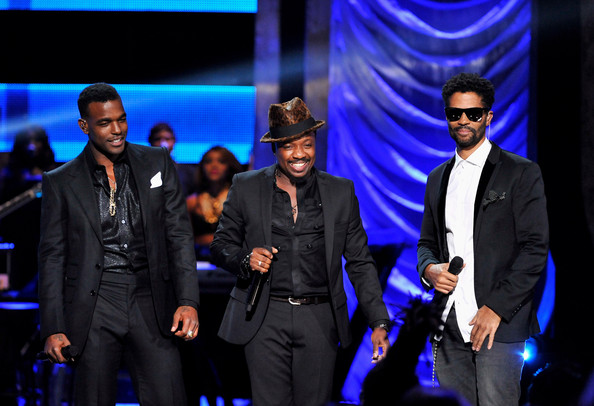 BET's Black Girls Rock 2012 - Show [performance,entertainment,event,music artist,performing arts,suit,public event,stage,formal wear,talent show,eric benet,anthony hamilton,luke james,l-r,new york city,paradise theater,bet,black girls rock 2012 - show]