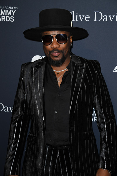 "Pre-GRAMMY Gala and GRAMMY Salute to Industry Icons Honoring Sean ""Diddy"" Combs - Arrivals [clothing,eyewear,fedora,hat,cool,headgear,black hair,fashion accessory,leather jacket,outerwear,sean ``diddy combs,arrivals,anthony hamilton,grammy salute to industry icons,beverly hills,california,pre-grammy gala,usher,photograph,image,grammy awards,red carpet,affirmation arts,fashion,livingly media,all smiles,january 25]"