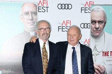 Anthony Hopkins Jonathan Pryce AFI FEST 2019 Presented By Audi – 'The Two Popes' Premiere – Arrivals