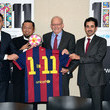 Anthony Lake FC Barcelona Launch Campaign