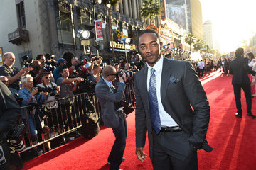 Anthony Mackie Audi Arrivals at The World Premiere of 'Avengers: Age Of Ultron'