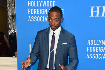 Anthony Mackie Hollywood Foreign Press Association's Grants Banquet - Arrivals