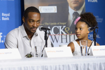 "Anthony Mackie ""Black And White"" Press Conference - 2014 Toronto International Film Festival"
